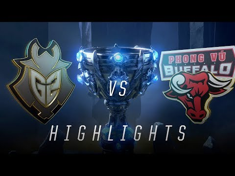 G2 vs. PVB - Worlds Group Stage Day 6 Match Highlights (2018)