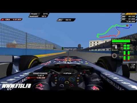 rFactor F1 2014 Red Bull Raçing RB10 - Vettel