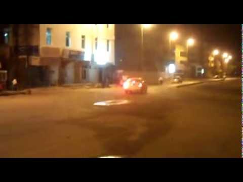 منع ظاهرة التفحيط بالسيارات في شوارع