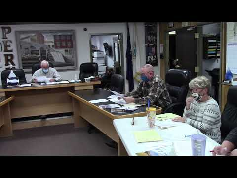 Peru Town Board Meeting  11-23-20