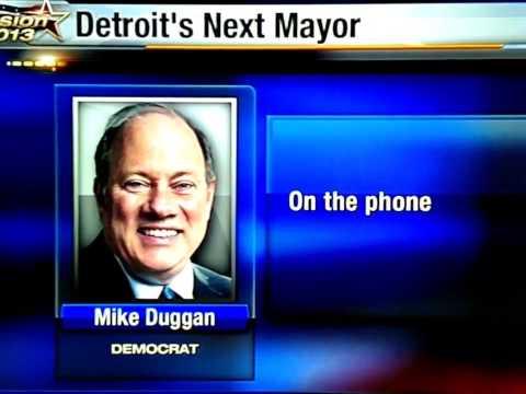 MrSan44Man Detroit Welcomes It's New Mayor Mike Duggan (Detroit Raw)