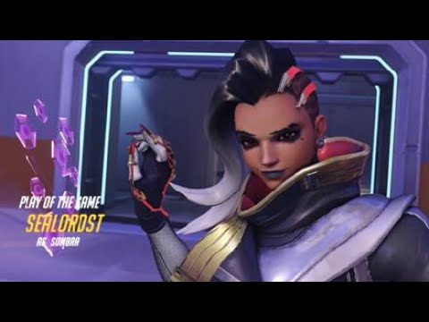 Overwatch  sombra  takes the  potg