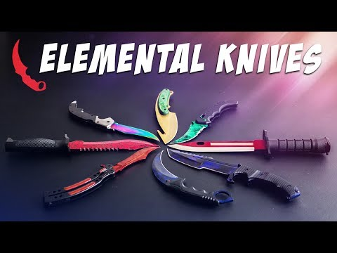 The Elemental Knives Case Opening | Real CS:GO Knives