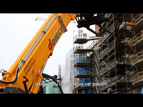 Stockholm Royal Seaport Building Logistics Centre (English version with Latvian subtitles)
