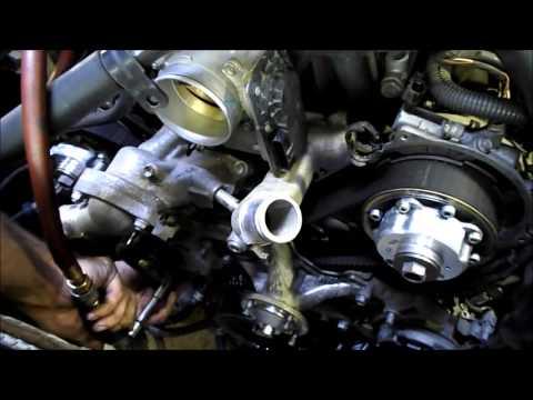 Замена ремня ГРМ на двигателе 2UZ-FE. Профессионально