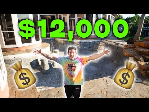 Check out my new $12,000 pool!!!