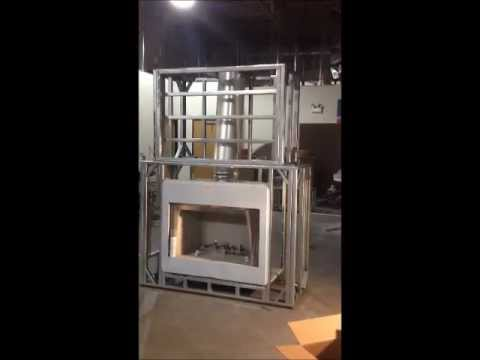 Outdoor Fireplace Frame Youtube