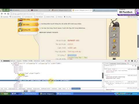 BUG vật phẩm free 0 CASH trong webshop