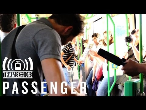 Passenger - Holes - Tram Sessions - Love This Guy!  Love How He Plays on The Streets and In The Train!