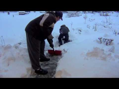 Arctic Storm Blast - Extreme Winter Weather: Record Cold Temperature and Snow - 2014