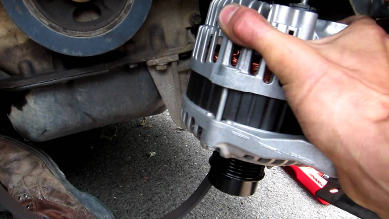 jeep compass alternator replacement youtube