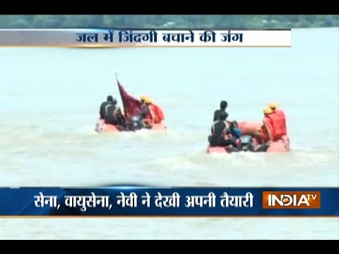 Bhubaneswar: Mock drill conducted to rescue flood victims in Brahmaputra river