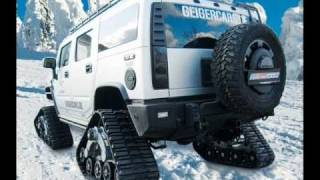 Hummer H2 Bomber modified by GeigerCars videos