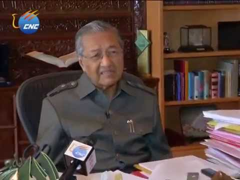 Exclusive - Former Malaysian PM: China-Malaysia ties will not be affected