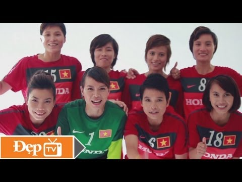 Những cô gái vàng - Việt Nam quyết thắng! - Đẹp Magazine 176 (Tháng 9/2013) - Le Media JSC