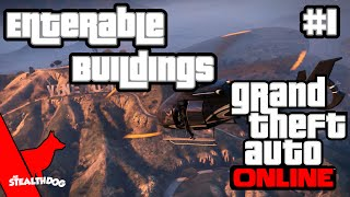 GTA V Online 10+ Enterable Buildings With Commentary