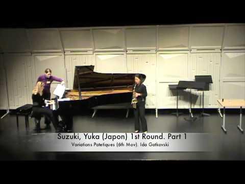 Suzuki, Yuka Japon 1st Round Part 1