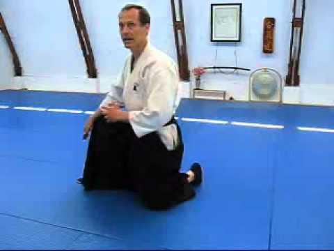 Aikido Backward Roll Instruction