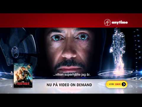 SF Anytime tv-reklam för Iron Man 3