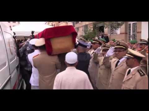 وصول جثمان الطيار المغربي إلى منزله