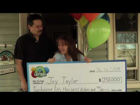 Colorado Lottery $250,000 Winner - Joy Taylor won big in the Lottery's Second-Chance Drawing for Dynamite Dollars.