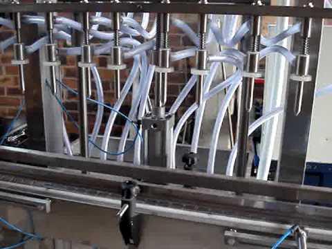 Maquina LLenadora de Aceite - ALINOR - Parte I