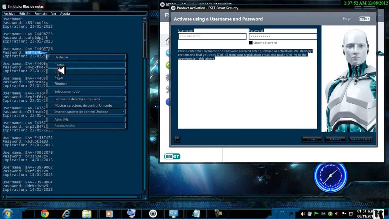 Home Descargar Eset Smart Security 6 Full 2013 Licencia De Por Vida