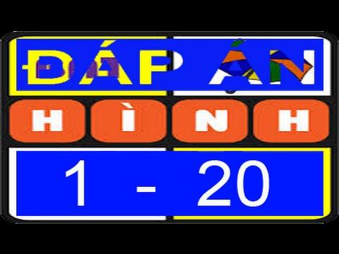 Đáp án game đuổi hình bắt chữ (1 - 20) - ACOGAME