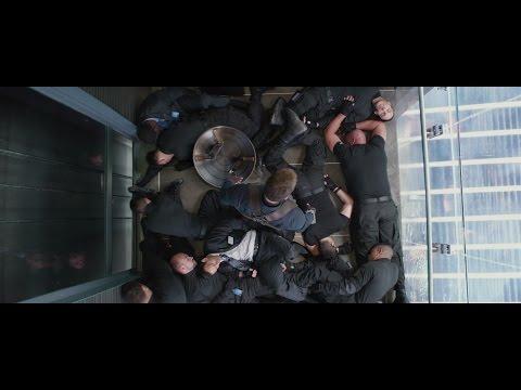 Captain America The Winter Soldier (2014)-Elevator Scene(HD)