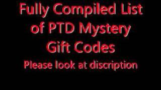 Pokemon Tower Defense: Mystery Gift Code List