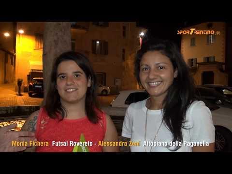 Copertina video Oscar del futsal trentino: Monia Fichera e Alessandra Zeni