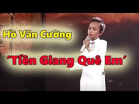 Hồ Văn Cường hát 'Tiền Giang Quê Em' - Thần tượng âm nhạc nhí 2016 - Đêm gala 5 - Tin Tức Sao Việt