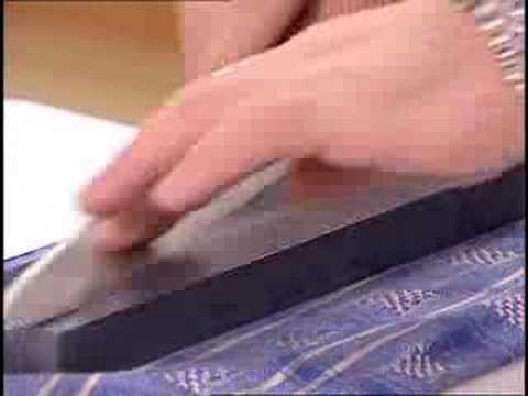 knife techniques the sharpening stone youtube. Black Bedroom Furniture Sets. Home Design Ideas