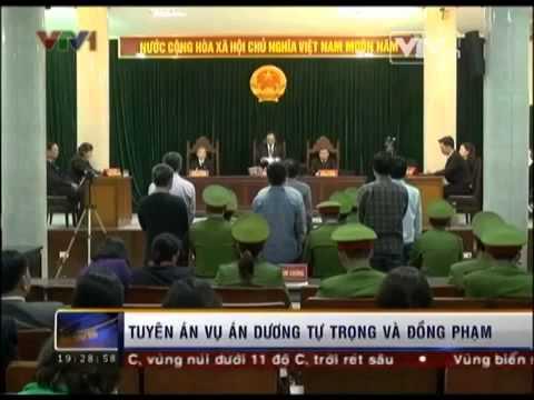 Tòa án nhân dân TP Hà Nội tuyên án vụ Dương Tự Trọng và các đồng phạm