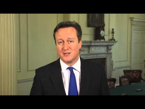 Happy Easter: Message from David Cameron