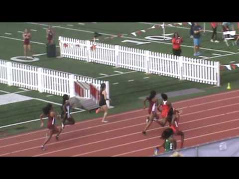 Redondo Invitational: Girls 100 Heat 6 (Kyara Dixon)