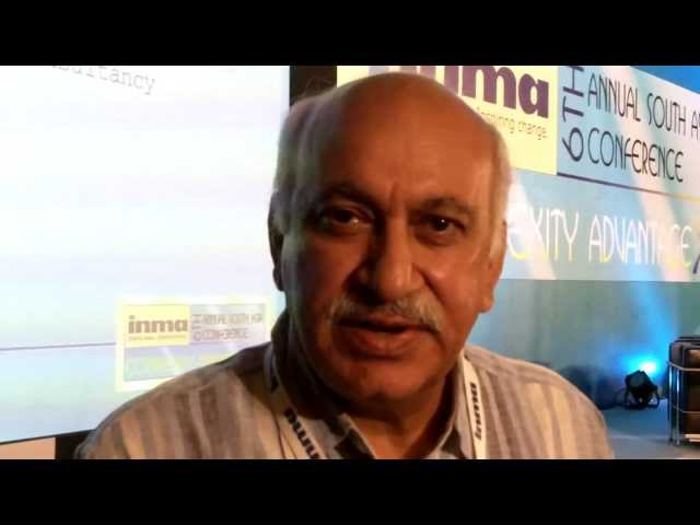 MJ Akbar @INMA South Asia Conference 2012