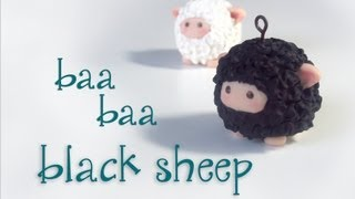 """Baa Baa Black Sheep"" Polymer Clay"