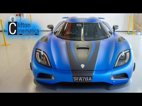 Koenigsegg Agera S Draws HUGE Crowd , Thunderous Acceleration and LOUD
