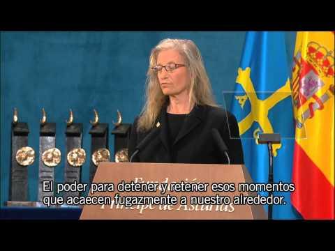 Discurso de Annie Leibovitz / Speech by Annie Leibovitz