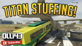 GTA 5 Funny Moments - Titan Stuffing! (GTA 5 Online)