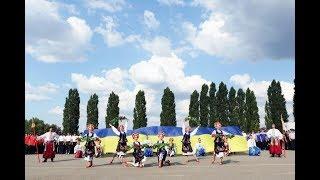 На великому плацу університету відбулися урочисті заходи з нагоди Дня Державного Прапора України