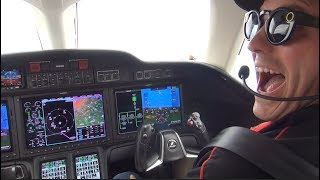 Watch Me Fly The HondaJet Including Tips & Tricks