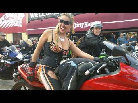 Bike nude daytona week