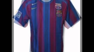 Historia De Las Camisetas De Barcelona