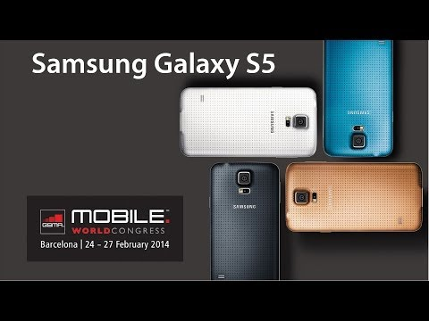 Samsung Galaxy S5 hands-on MWC 2014 (Greek)