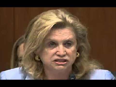 Carolyn Maloney is taught how non profits work