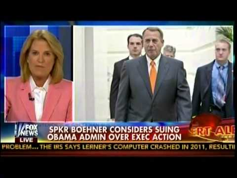SPKR Boehner Considers Suing Obama Admin Over Exec Action - On The Record