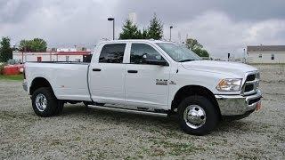2014 Ram 3500 SLT Truck White Diesel Dually For Sale
