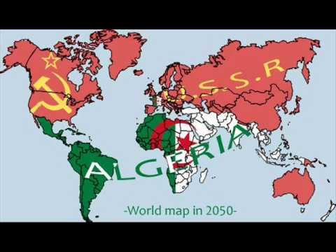 العالم في عام 2050....le monde en 2050.....the world in 2050